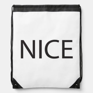 Nonsense In Crappy Existence.ai Drawstring Bags