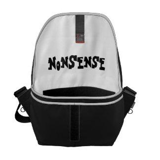 NonSense Messenger Bags