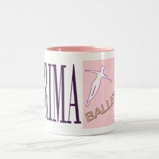 Nonstop Prima Ballerina Two-Tone Coffee Mug
