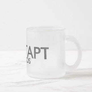 Nontapt Records Frosted Beer Mug