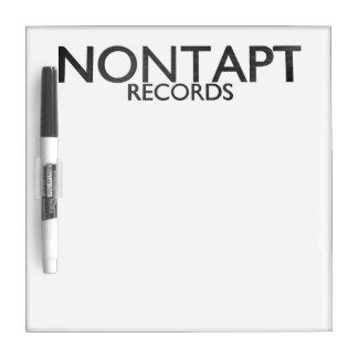 Nontapt Records White Board