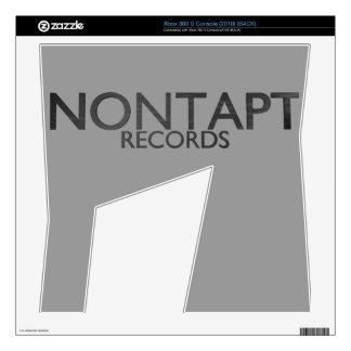 Nontapt Records Xbox 360 skin