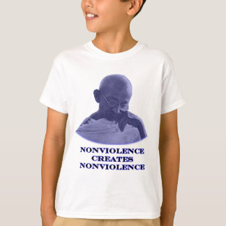 Nonviolence Blue The MUSEUM Zazzle Gifts T-Shirt