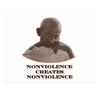 Nonviolence Brown los regalos de Zazzle del MUSEO Tarjeta Postal