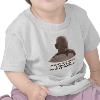 Nonviolence Brown The MUSEUM Zazzle Gifts T-shirt