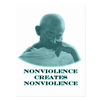 Nonviolence ciánico los regalos de Zazzle del Tarjeta Postal