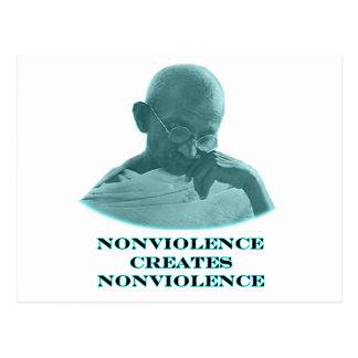 Nonviolence ciánico los regalos de Zazzle del Postales