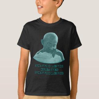 Nonviolence Cyan The MUSEUM Zazzle Gifts T-Shirt