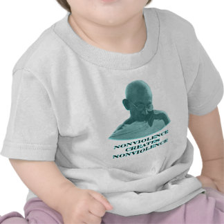 Nonviolence Cyan The MUSEUM Zazzle Gifts Tshirts