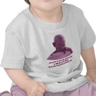 Nonviolence Magenta The MUSEUM Zazzle Gifts T-shirts