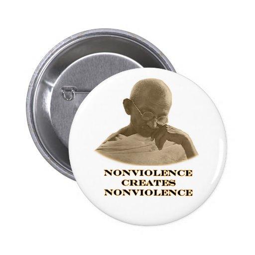 Nonviolence Orange The MUSEUM Zazzle Gifts Pin