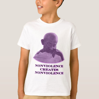 Nonviolence Purple The MUSEUM Zazzle Gifts T-Shirt