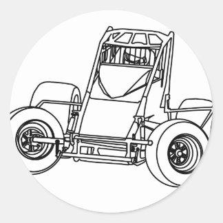 Nonwing1ai Classic Round Sticker