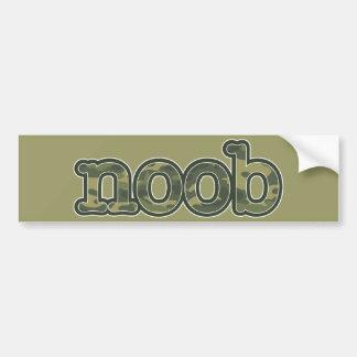 Noob Car Bumper Sticker