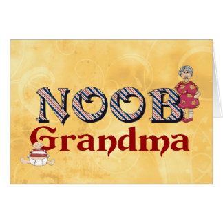 NooB Grandma Card