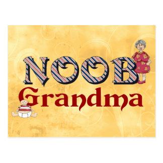 NooB Grandma Postcard