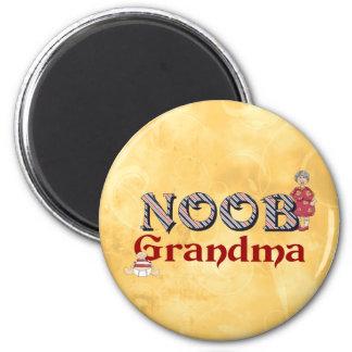 NooB Grandma Refrigerator Magnet