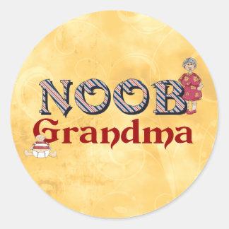 NooB Grandma Sticker