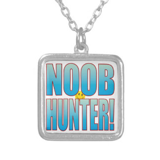 Noob Hunter Life B Silver Plated Necklace