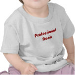 Noob profesional camisetas
