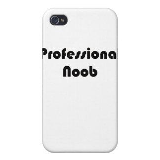 Noob profesional iPhone 4 funda