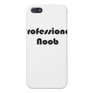 Noob profesional iPhone 5 protectores