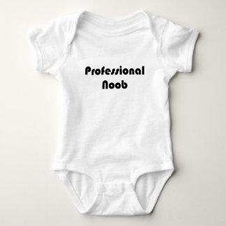 Noob profesional mameluco de bebé