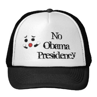 noobama, NoObamaPresidency Hats