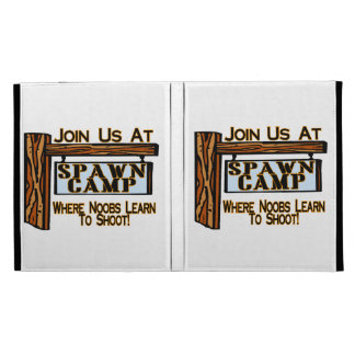 Noobs At Spawn Camp iPad Folio Covers