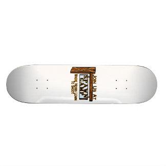 Noobs At Spawn Camp Skateboard