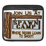 Noobs en el campo de la freza fundas para iPads