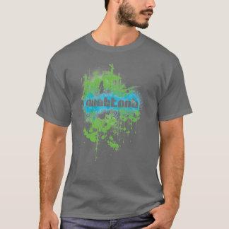 NooBToob Grunge Gray T-Shirt