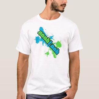 NooBTooB Splotch White T-Shirt
