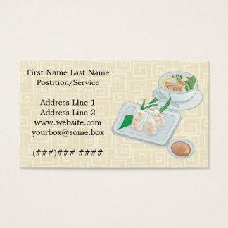 Noodle House Business Card