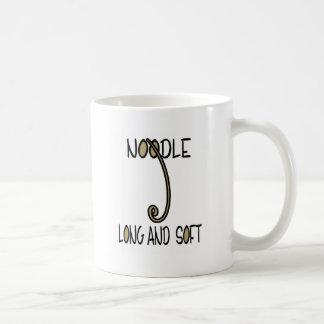 Noodle Long and Soft Coffee Mug
