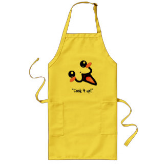 "Noodle Shop Apron - Mini-Lune - ""Cook it up!"""