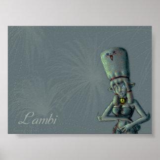 Noodle Shop Poster - Lambi
