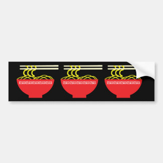 Noodles Bumper Sticker