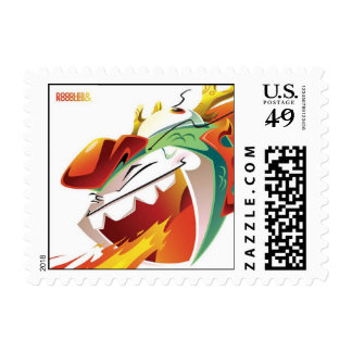 Noodles & Doodles Postage Stamp