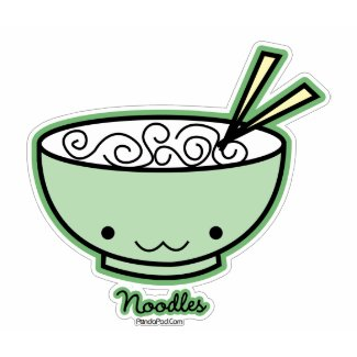 Chinese Character T-shirt (Noodles)