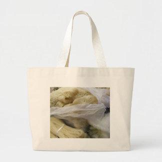 noodles large tote bag