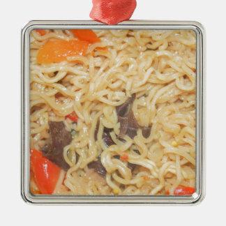 Noodles Metal Ornament