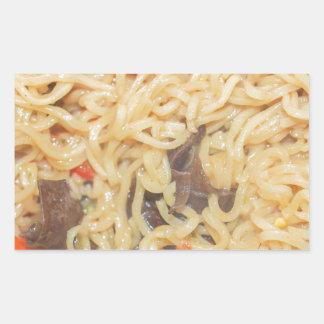Noodles Rectangular Sticker