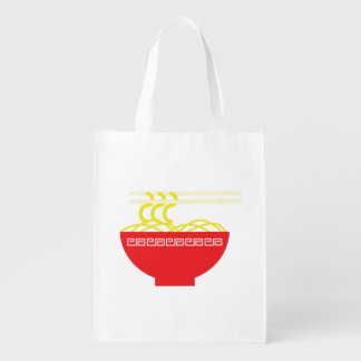 Noodles Reusable Grocery Bag