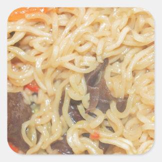 Noodles Square Sticker