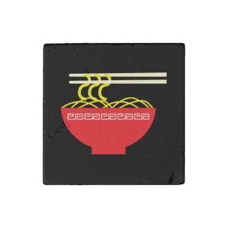 Noodles Stone Magnet