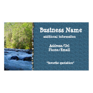 Nooksack River Business Card