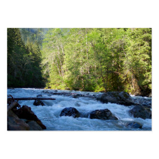 Nooksack River Large Business Card