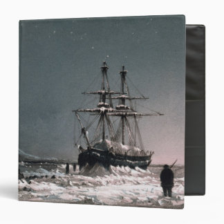 Noon: In Mid-Winter, Port Leopold, from 'Ten Colou 3 Ring Binder