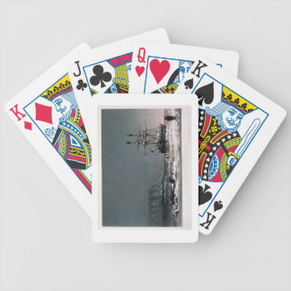 Noon: In Mid-Winter, Port Leopold, from 'Ten Colou Bicycle Playing Cards